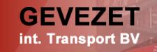 GEVEZET int. Transport BV shirtsponsor v.v. Den Bommel