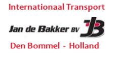 Jan de Bakker BV  hoofdsponsor v.v. Den Bommel